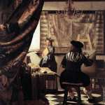 The art of painting* (Vermeer)